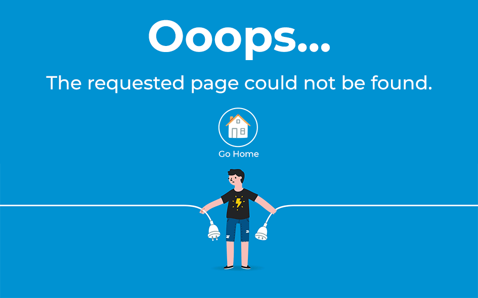 The requested page could not be found.